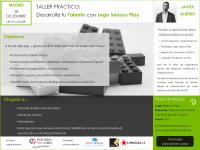 TALLER DESARROLLA TALENTO LEGO SERIOUS PLAY MADRID 18 DICIEMBRE