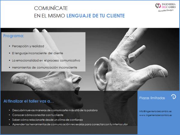 WEB COMUNICATE LENGUAJE CLIENTE